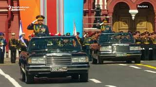 Moscow's Red Square Hosts Victory Day Parade