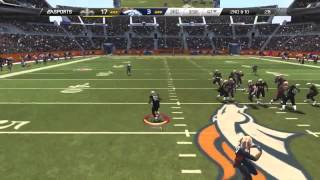 Madden 25::PLAYSTATION 4 Gameplay::Comeback?!-Saints Vs.Broncos-Online Gameplay PS4 Team Play