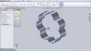 2- SolidWorks Surface Tutorial: Extruded Surface pt2