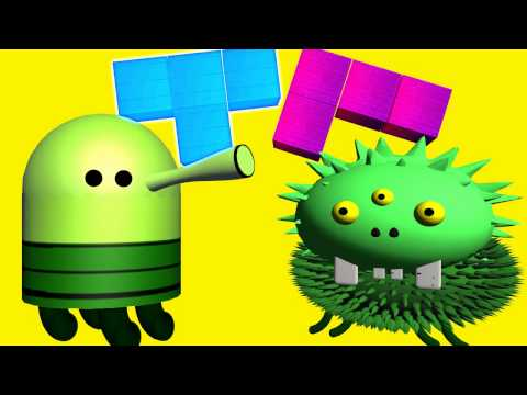 DOODLE JUMP  vs. TETRIS ♫ 3D animated  game mashup ☺ FunVideoTV - Style ;-))