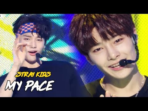 [HOT]Stray Kids -  My Pace , 스트레이 키즈 - My Pace  Show Music core 20180818