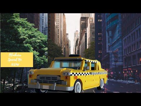 Bluebrixx Specials No. 103298 Amerikanisches gelbes Taxi - Yellow Cab -  cooles Teil, aber...