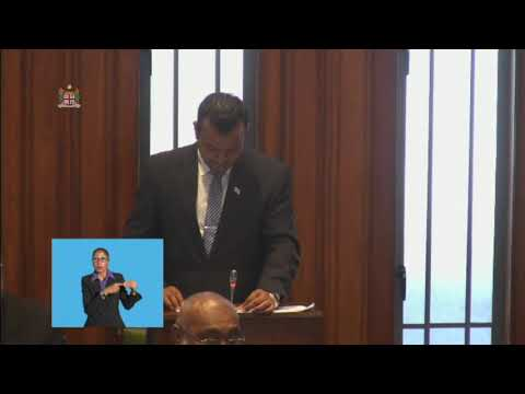 Fijian Assistant Minister for Employment delivers ministerial statement