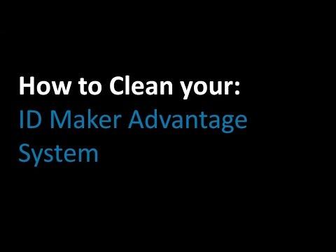 ID Maker Advantage ID Card Printer Cleaning Tutorial