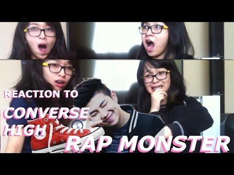 [REACTION] RAP MONSTER CONVERSE HIGH