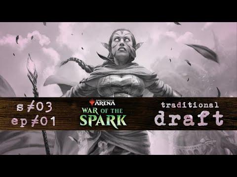 radio Kyoto s03 ep01 | War of the Spark Draft | MTG Arena