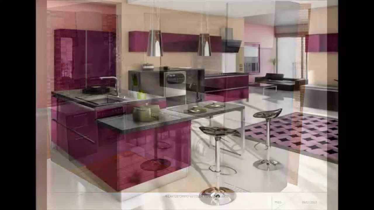 Dise os de cocinas remodeladas youtube - Disenos de cocinas ...