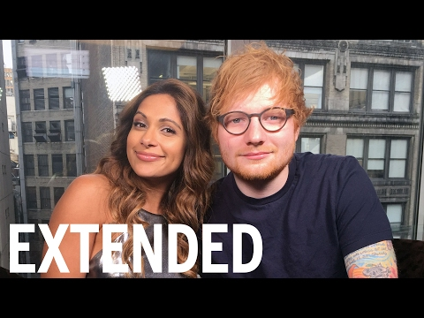 Ed Sheeran Talks Tattoos, Cats And Marriage Rumours  | EXTENDED