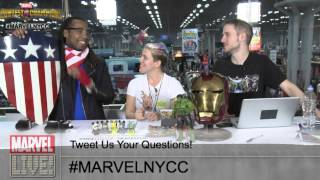 Cosplayer Tony Ray Talks Costume Creation and Young Avengers on Marvel LIVE! at NYCC 2014