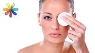 видео Как снимать макияж правильно с глаз, лица, ресниц