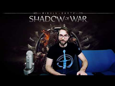 Shadow of War Livestream - Legendary Gear and Best Armor Builds, Tips, & Skills: Fire & Explosions