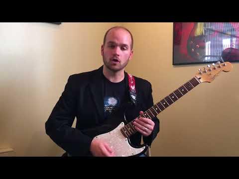 Fast Legato Guitar Lick Lesson- Eric Bourassa