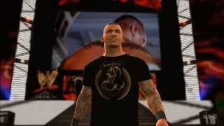 WWE 2K14 - Randy Orton vs John Cena Gameplay [HD]