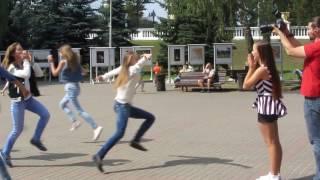 Флэшмоб на день рождения Кристины))