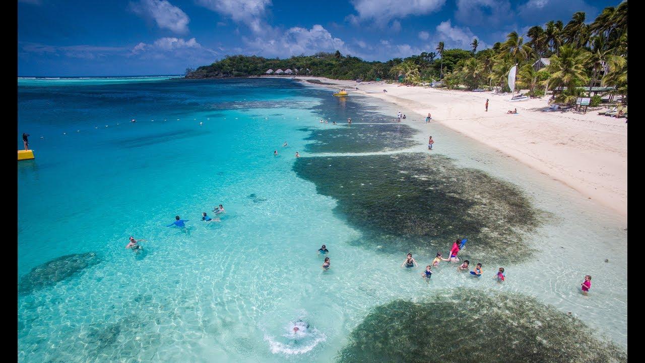 Mana Island Resort Spa Fiji Holiday Promo 4k Uhd