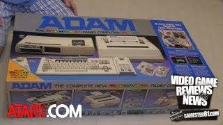 Coleco ADAM Computer Unboxing & Gameplay - Gamester81
