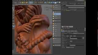 CINEMA 4D R14: Sculpting