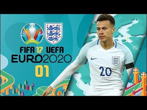 FIFA 17 | Euro 2020 w/England Pt1 - ENGLAND vs SCOTLAND!!