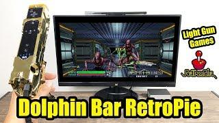 RetroPie Set Up Dolphin Bar For Light Gun Games