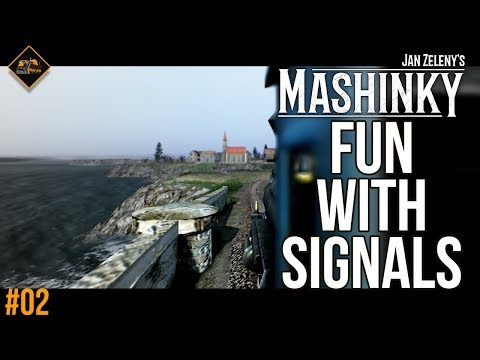 Signalling and depot work - Let's Play Mashinky gameplay part 2