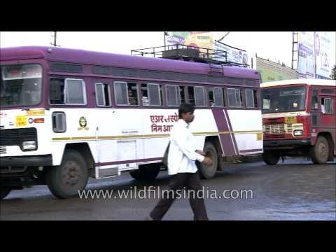 Bus service in Satara, Maharashtra