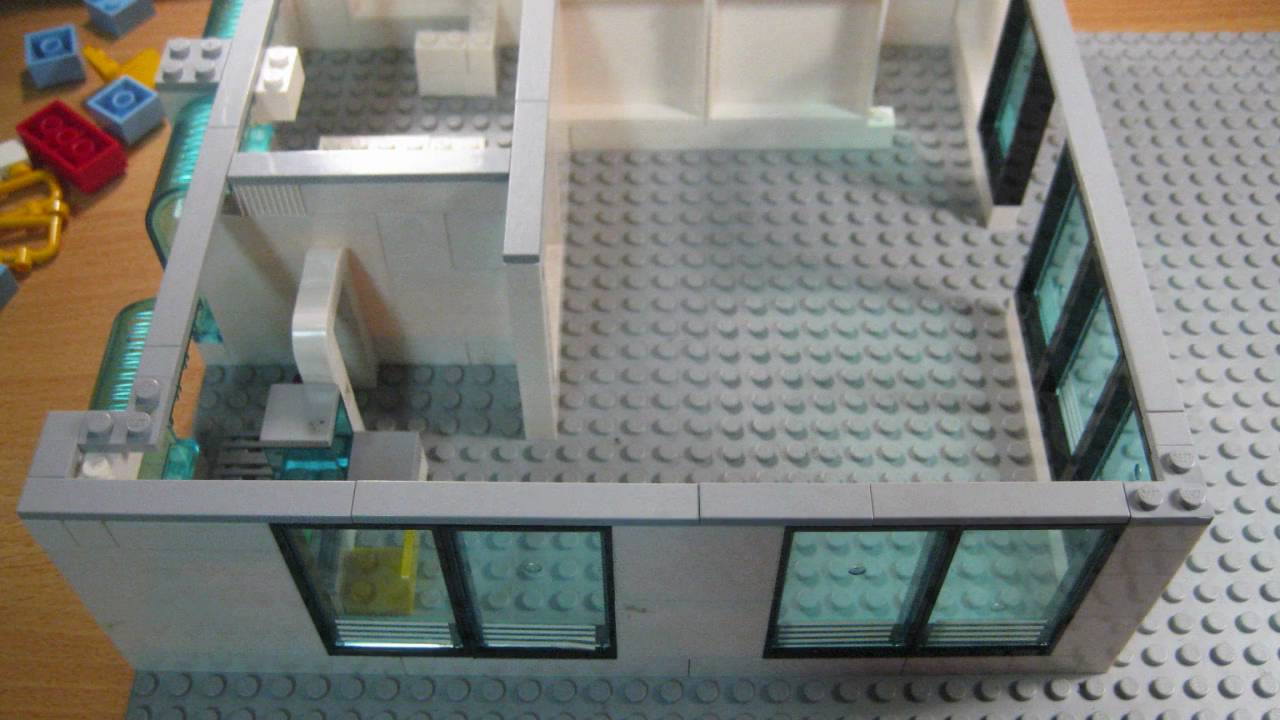 How to build lego airport youtube for How to make a home decorations