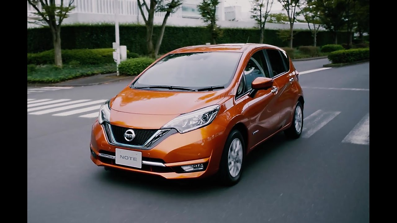 2017 nissan note e-power review