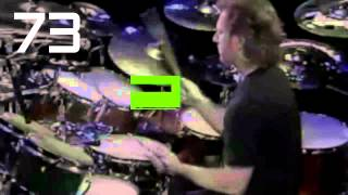 90 bpm simple straight beat drum track
