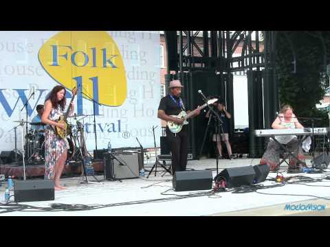 Super Chikan and the Fighting Cocks Live @ The Lowell Folk Festival 7/25/15