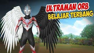 Ultraman Orb Belajar Terbang , upin ipin senang ! GTA Lucu