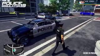 Police Simulator 18 Crash System Gameplay