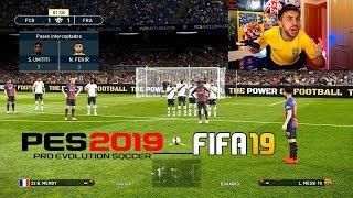 ¿PES 2019 es MEJOR que FIFA 19?