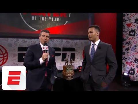 Jalen Brunson wins Wooden Award as nation\'s best men\'s college basketball player | ESPN