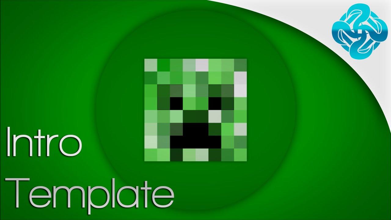 Minecraft Template Maker Minecraft Intro Template Movie Maker - 2D ...