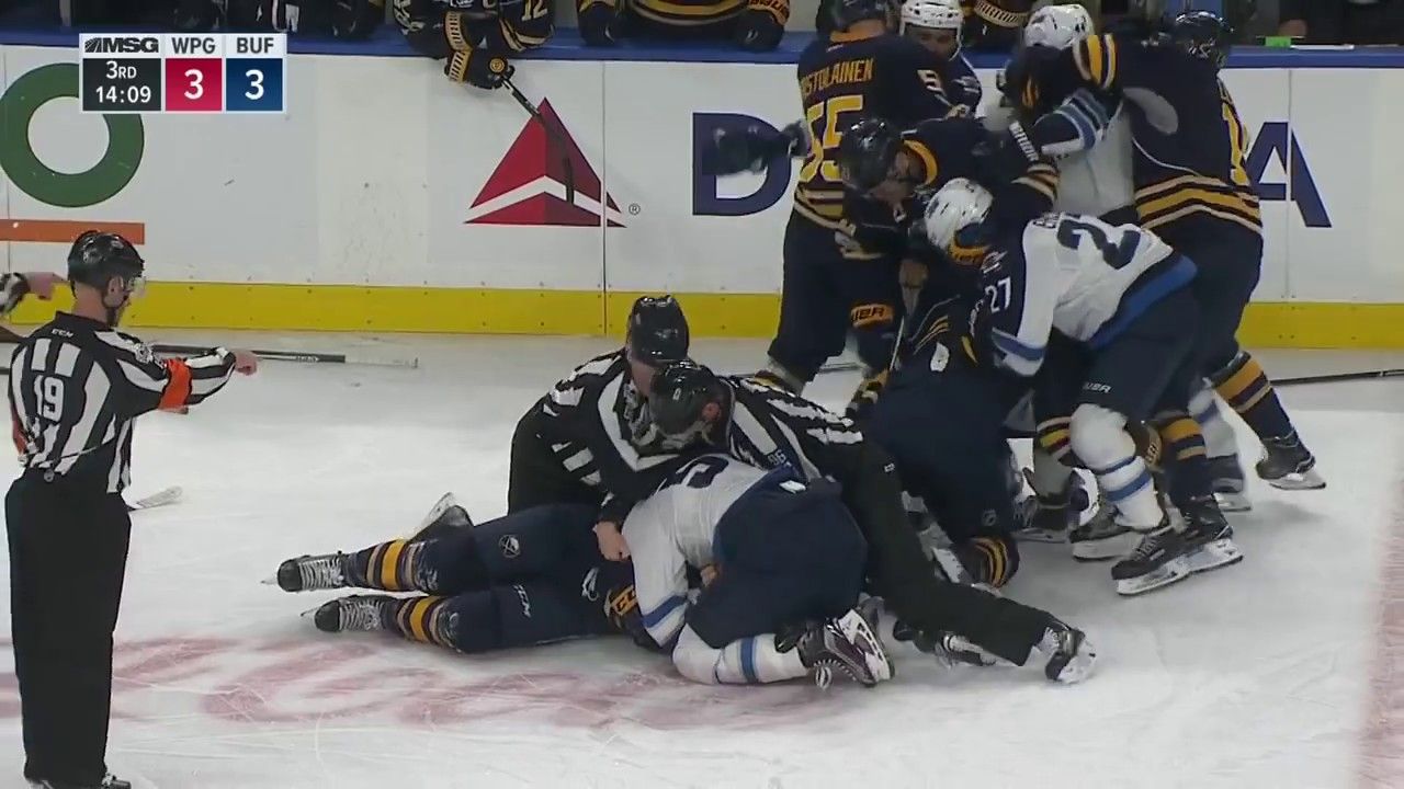 Gotta See It: McCabe absolutely levels Laine with bone-crushing hit