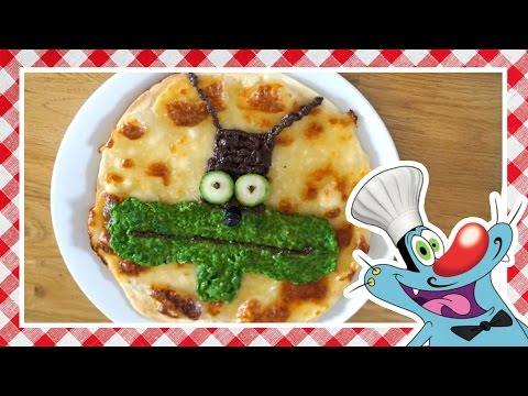 Oggy's Tips 'n' Tricks - How to cook the Marky Pizza!