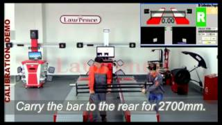 Calibration Demo Lawrence 3D Wheel Alignment