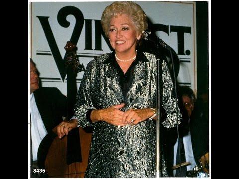 Anita O'Day, Kaye Stevens-- Rare 1989 TV Interview