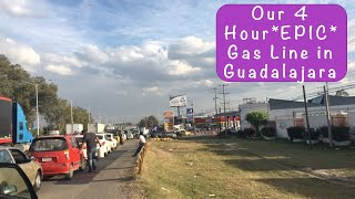 Gas Line in Mexico (Almost FOUR HOURS Long!!) 2019