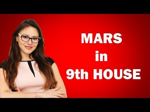 MARS in the 9th House in the Birth Chart. The Crusaders! With Astrolada