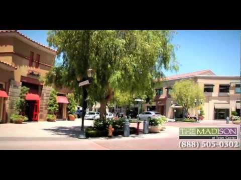 Valencia & Santa Clarita Apartments - Neighborhood Tour The Madison at Town Center