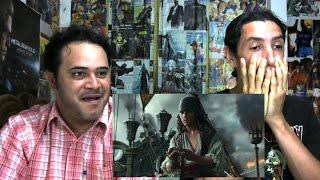 Reação ao trailer de Piratas do Caribe 5 - A Vingança de Salazar
