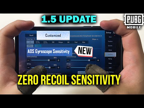 Download How To Get The Best Sensitivity In PUBG MOBILE/BGMI | ADS Gyroscope Sensitivity Settings
