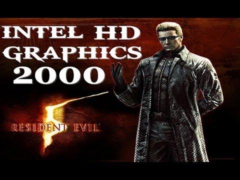 Intel HD Graphics 2000 Resident Evil 5