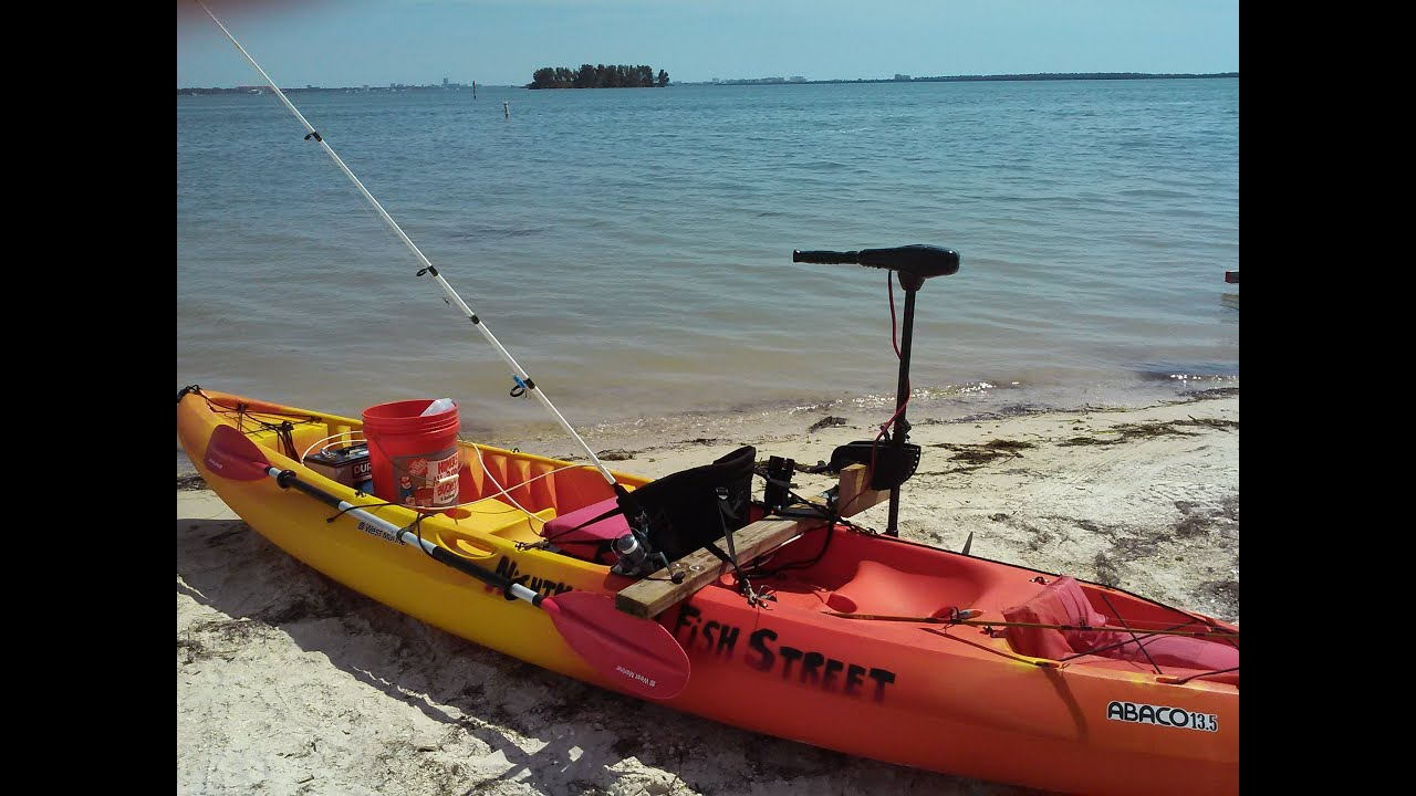 Diy trolling motor for How to kayak fish