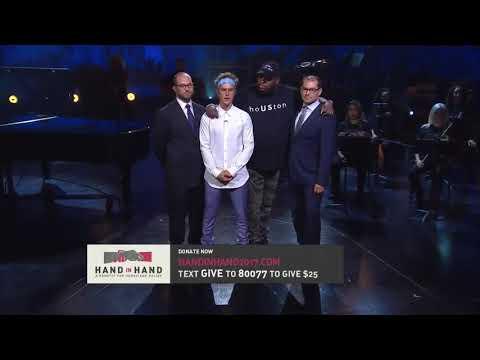 Justin Bieber - Prayer Hand in Hand - Benefit for Hurricane Relief - September 12, 2017