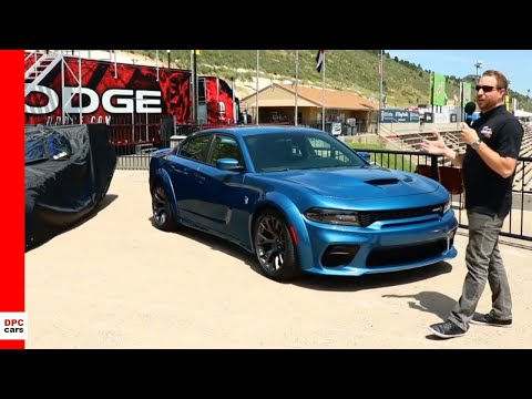 2020 Dodge Charger SRT Hellcat Widebody NHRA Funny Car Unveiling