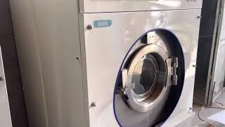 Máy Giặt Công Nghiệp 22kg chân mềm 65 triệu - Asahi Economat 3 khay zin bản từ Nhật