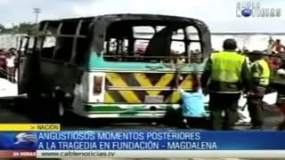 Repeat youtube video Angustiosos momentos posteriores a la tragedia en Fundación