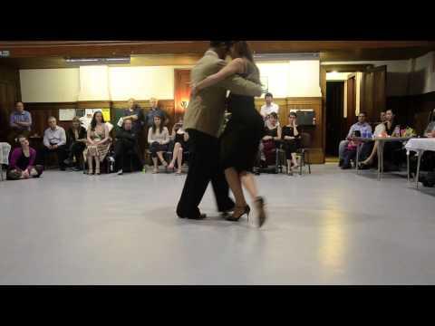 Damian Thompson and Oliwia Otto, Tango in Scotland